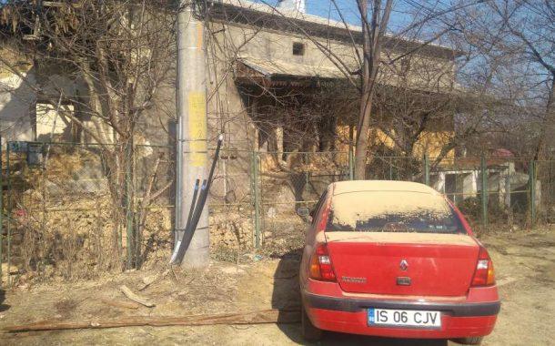 FOTO. Scene apocaliptice langa santierele lui Zamosteanu. O demolare cu cantec in zona Elena Doamna a scos oamenii in strada
