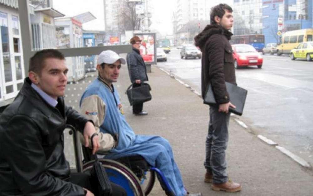 Transportul public din Iasi, în proces de accesibilizare pentru persoanele cu dizabilităti