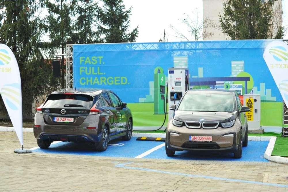 Retea de statii de încărcare rapidă a vehiculelor electrice, lansata de E.ON la Iasi