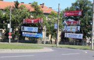 Materialele electorale, interzise pe stâlpii de electricitate din Iasi