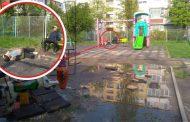 ALARMANT! Copii expusi pericolelor in parcurile de joaca din Iasi. Ieseni, aparati-va copiii, Politia Locala nu exista in cartiere!