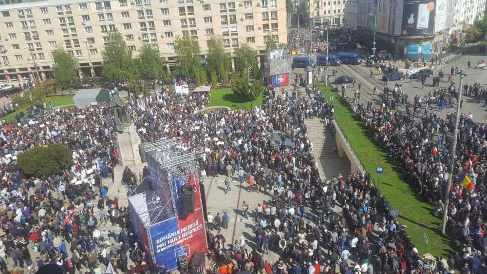 Protest contra discriminării mediului academic din Moldova