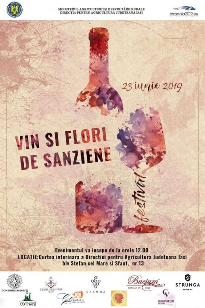 MoldoVia – Vin şi Flori de Sânziene, in curtea Directiei Agricole din Iasi