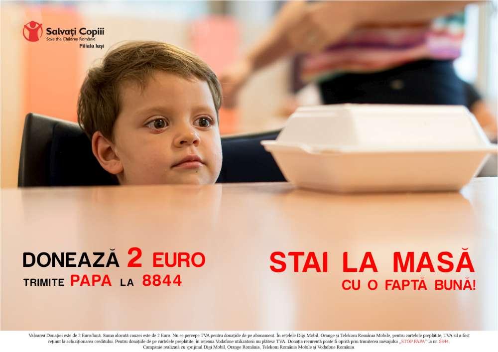 Susține și tu cauza celor 120 de copii din centrele Salvați Copiii Iași!