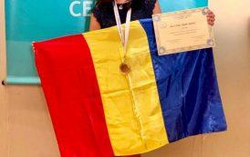 Medalie de aur  pentru  Mălina Constantinescu, la Olimpiada Balcanică de Fizică