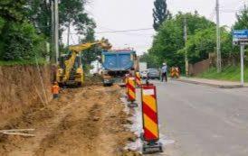 Lucrări de modernizare și restricții de circulație pe aleea Strugurilor