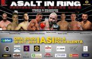 Asalt în ring la Iași. Direct din Spania, Rafael Chiruta se intoarce sa lupte acasa, la Iasi