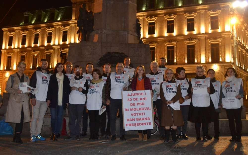 Reprezentanții ieșeni ai Alianței 2020 USR PLUS: la 30 de ani de la Revoluție, fără PSD în turul doi!