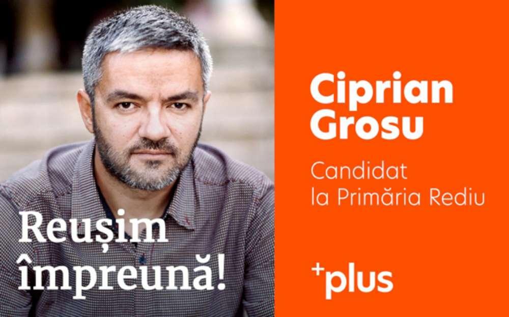 """Interviu: Ciprian Grosu – candidatul +PLUS la Primăria Rediu. """"Realizările de pana acum din comuna Rediu sunt sub aspiraţiile locuitorilor"""""""
