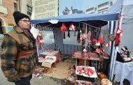 Festivalul Martisorului de la Iasi. Demonstratii de indemanare in fata Mitopoliei Moldovei si Bucovinei