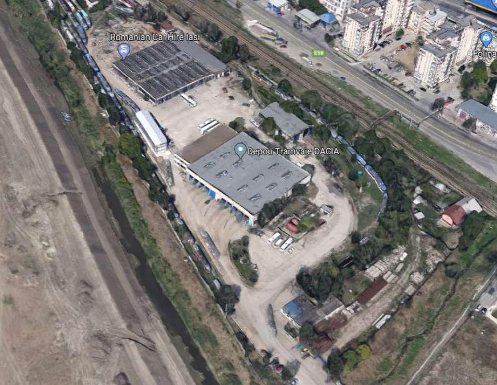 Parc, parcare subterana si muzeu, pe locul depoului de la Gara. Depoul din Dacia, modernizat cu 16 milioane euro