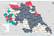 Harta comunelor cu apa contaminata! Anul 2020, estul Romaniei- un sfert din comunele din judetul Iasi nu au retele de apa potabila