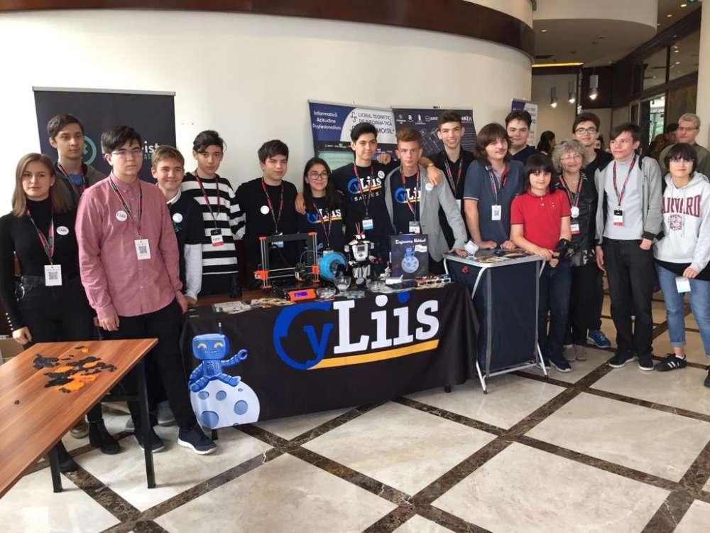 Performantă si inovatie în robotică marca CyLIIS la Liceul de Informatica din Iasi
