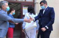 Sef din cadrul ISJ Iasi, diagnosticat cu COVID. Acesta a participat la intalnirea cu ministrii Anisie si Alexe