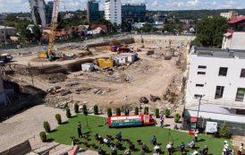 120 milioane de euro, investitie in Iasi: Iulius a inceput constructia Palas Campus, un amplu proiect de regenerare si dezvoltare urbana