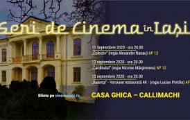 Filme sub cerul liber, în trei locuri speciale din Iasi