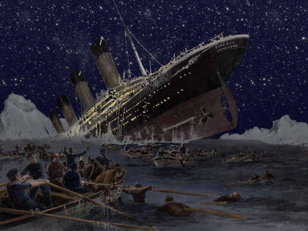 O parte din Titanic, în licitație la București