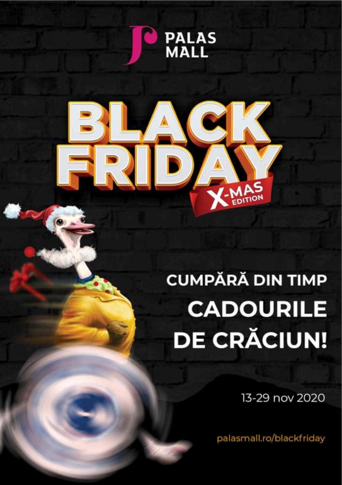 Un super Black Friday X-MAS edition te așteaptă la Palas: trei săptămâni cu reduceri de până la 80%!
