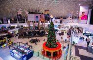 Atmosfera de Crăciun s-a instalat în Palas. Bucură-te de shopping într-un peisaj de basm!