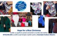 Donează ore de terapie micuților cu autism de la Surâsul Albastru, cumpărând eșarfa HOPE !