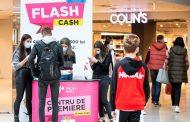 Flash Cash revine! Trei zile de shopping cu premii, la Palas