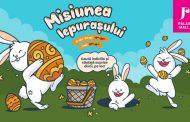 Iepurașul de Paște și prietenii lui au pregătit surprize pentru toți copiii, la Palas!