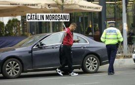 Luptatorul Catalin Morosanu, prins baut la volan si lasat fara permis