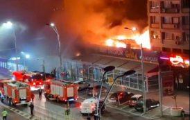 Incendiu la cel mai mare restaurant Dristor Doner Kebap din București