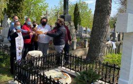 Restaurarea mormântului lui Barbu Ștefănescu Delavrancea