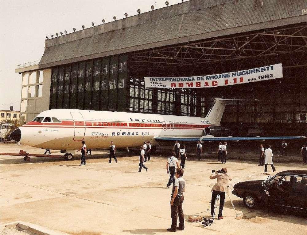 Avionul prezidențial al lui Nicolae Ceaușescu, scos la licitație