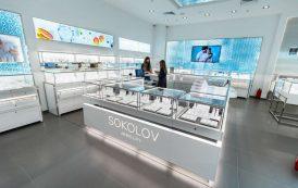 SOKOLOV a inaugurat în Palas primul său magazin de bijuterii din România