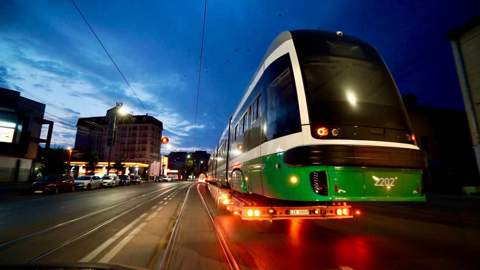 Primele tramvaie PESA au ajuns la Iaşi
