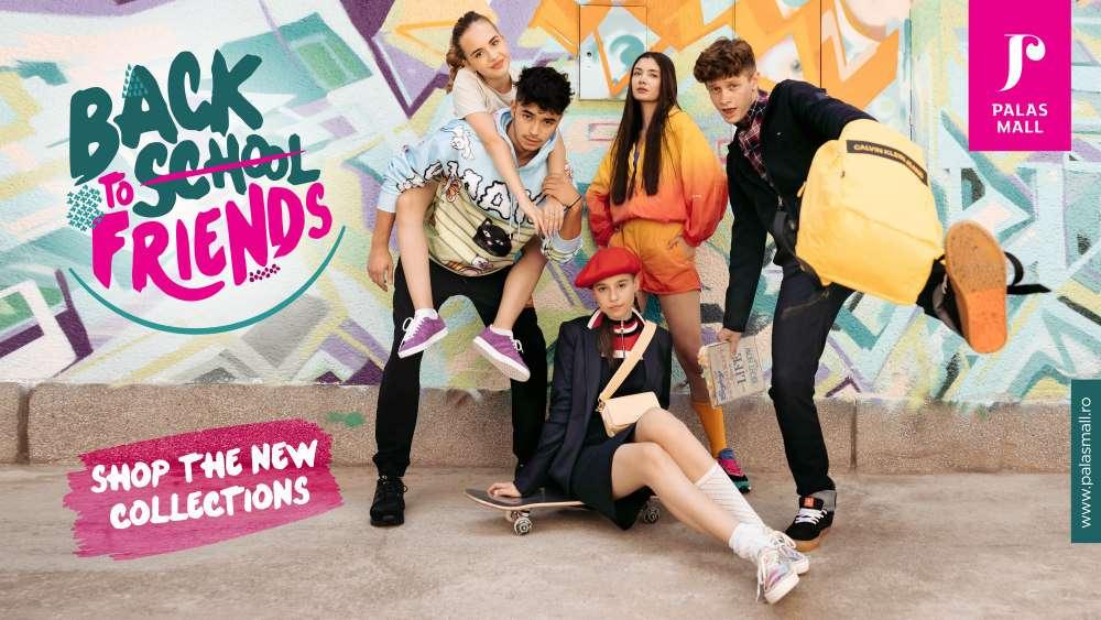 """Back to school friends!"""" cu outfit-uri stylish de la brandurile din Palas"""