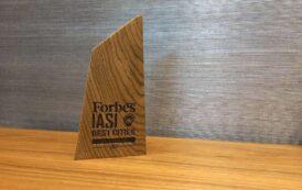 """Ansamblul mixt Palas a primit """"Premiul de excelență pentru contribuția la dezvoltarea economică regională"""" în cadrul Galei Forbes România Best Cities For Business"""