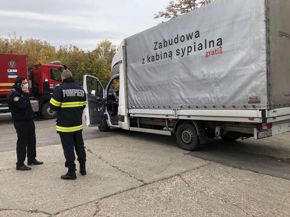 Polonia a donat concentratoare de oxigen necesare bolnavilor de COVID de la Spitalul modular Letcani